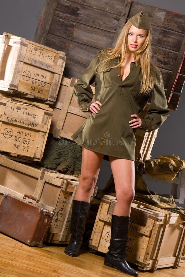 Soldado de fortuna foto de stock