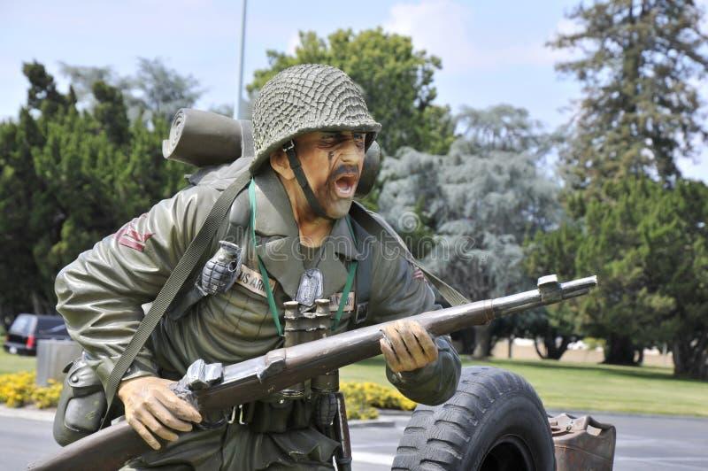 Soldado de la infantería del ejército imagenes de archivo