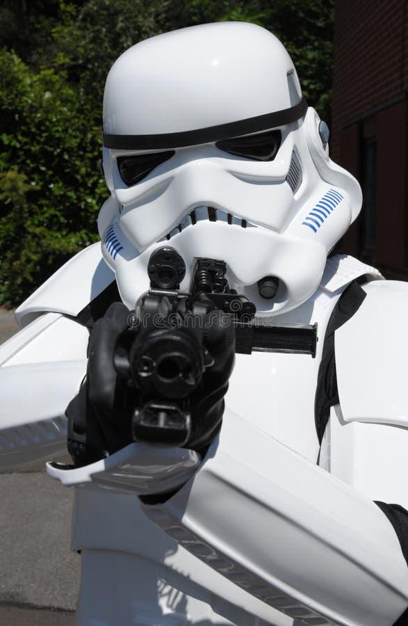 Soldado de Starship fotos de stock
