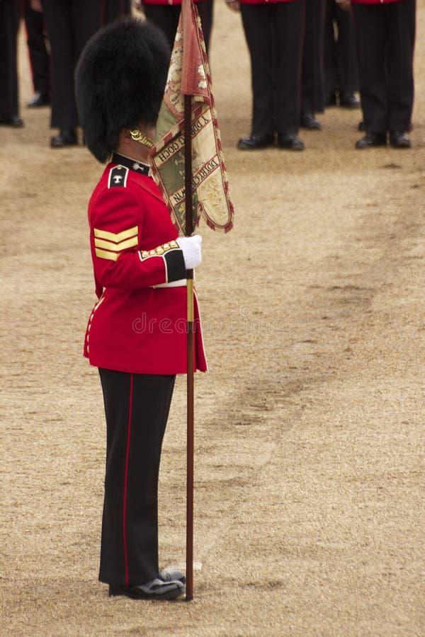 Soldado en desfile fotos de archivo libres de regalías
