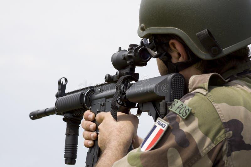 Soldado francês fotos de stock
