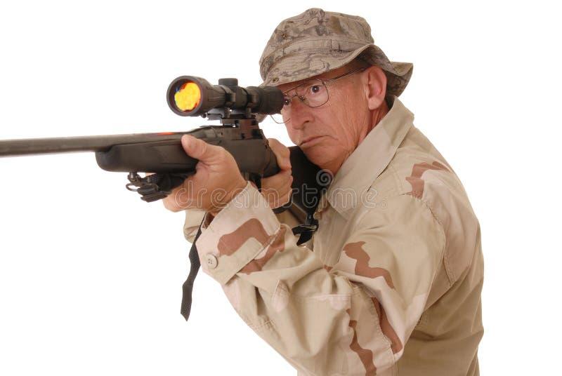 Soldado idoso 13 imagem de stock