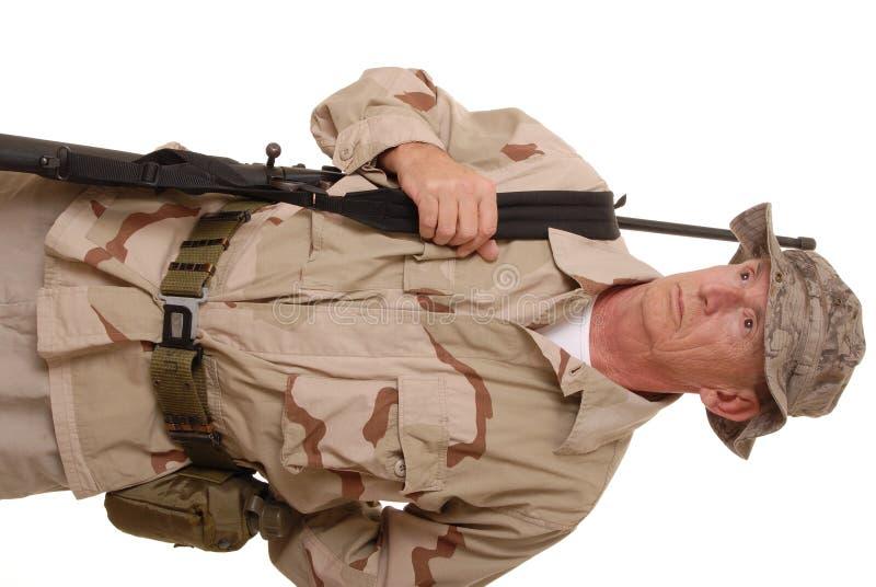 Soldado idoso 6 imagens de stock royalty free