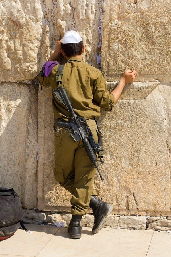 Soldado israelita foto de stock royalty free