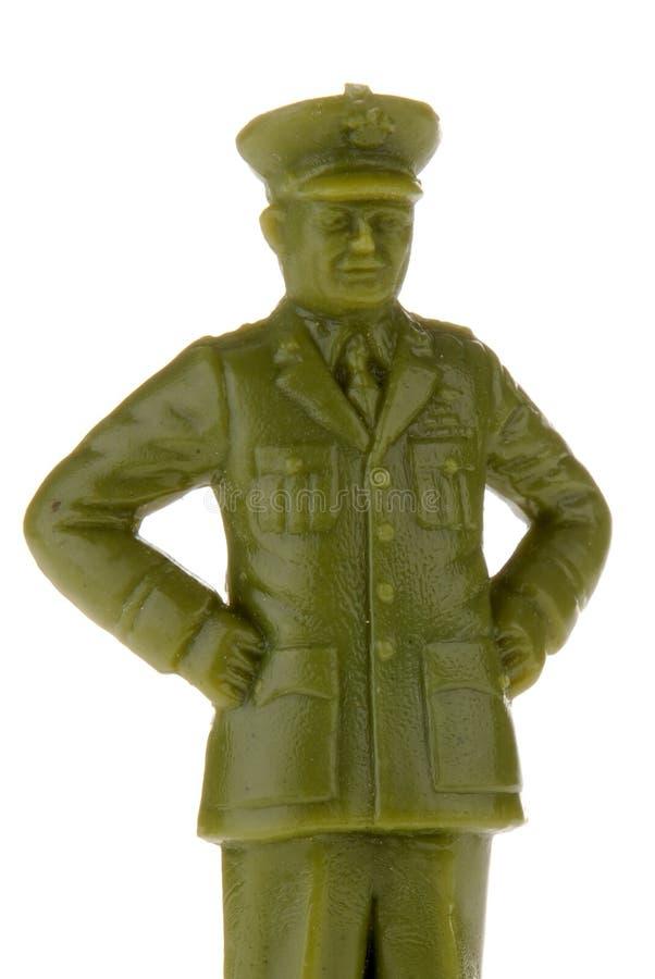 Soldado plástico del ejército de la vendimia foto de archivo libre de regalías