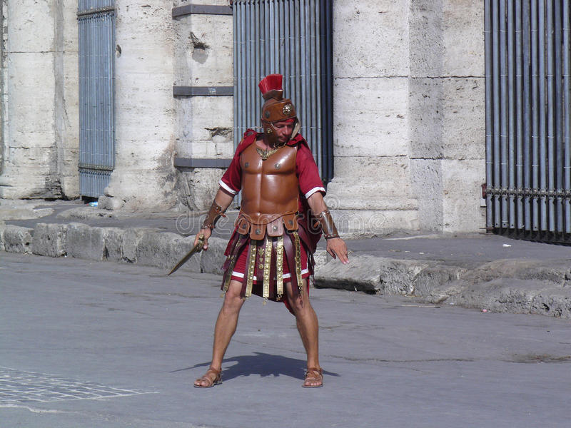 Soldado romano fotografia de stock royalty free