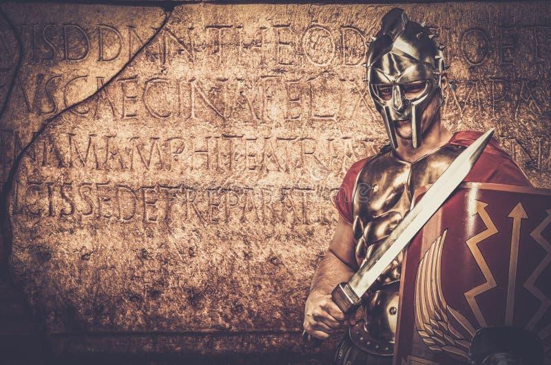 soldado romano del legionario fotos de archivo