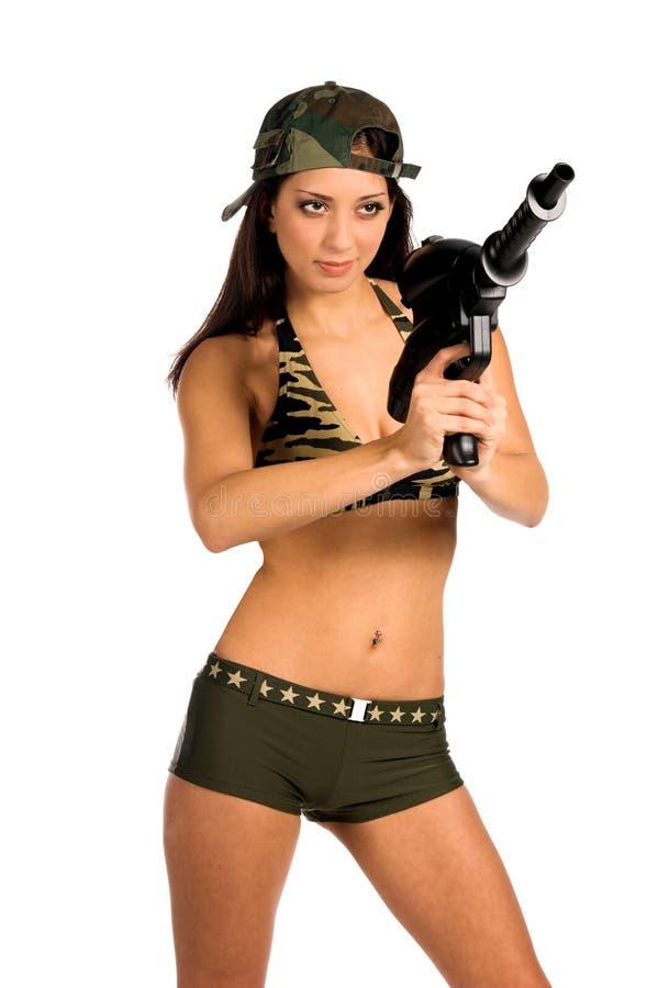 Soldado 'sexy' fotos de stock