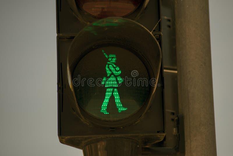 Soldado verde fotografía de archivo