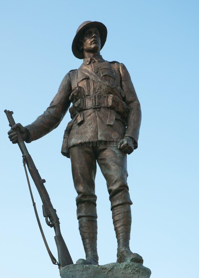 Soldado Winchester de WWI imagens de stock
