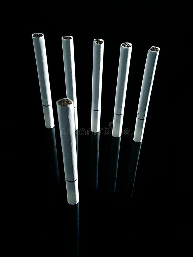 Soldados 02 del cigarrillo stock de ilustración