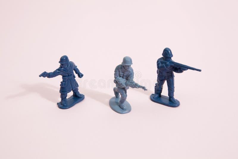 Soldados cor-de-rosa imagem de stock royalty free