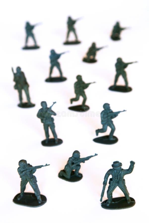 Soldados de brinquedo foto de stock royalty free