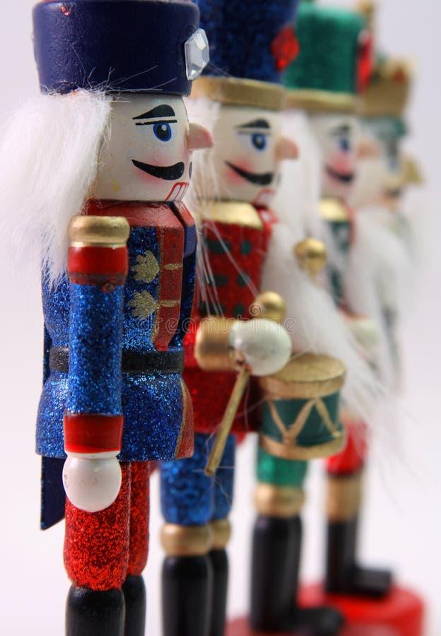 Soldados de brinquedo imagens de stock