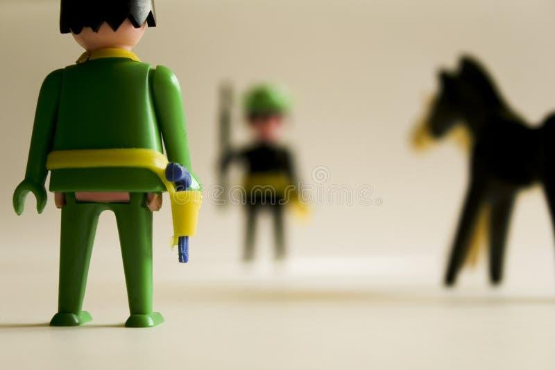 Soldados de juguete imagen de archivo libre de regalías