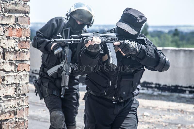 Soldados de los ops de espec. imagen de archivo