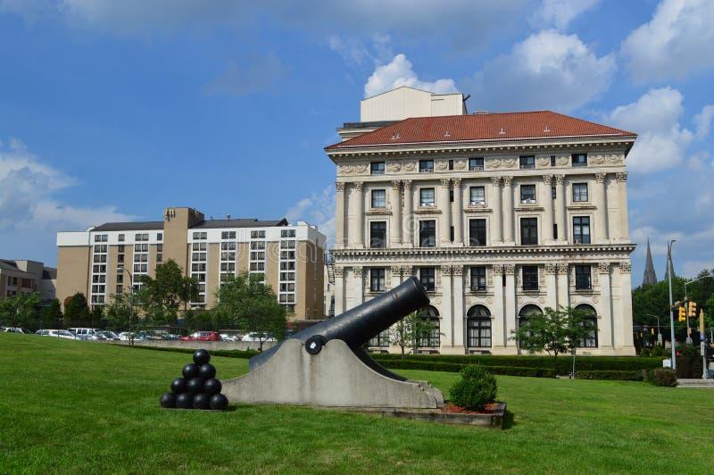 Soldados de Pittsburgh y marineros Memorial Hall y museo fotografía de archivo libre de regalías