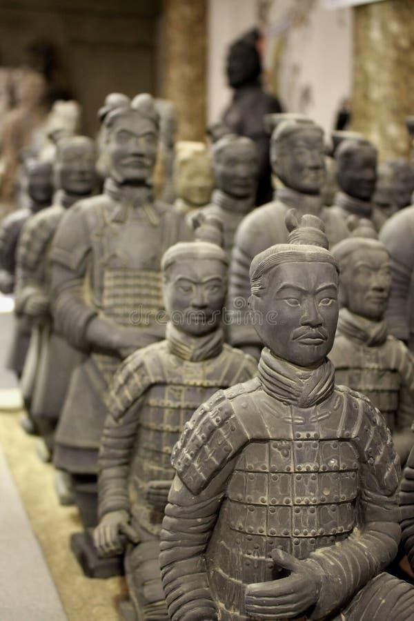 Soldados do Terracotta fotografia de stock