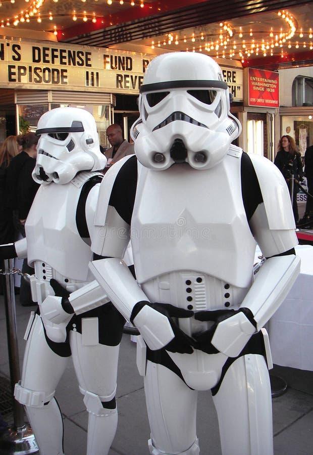 Soldados imperiais da tempestade fotos de stock royalty free