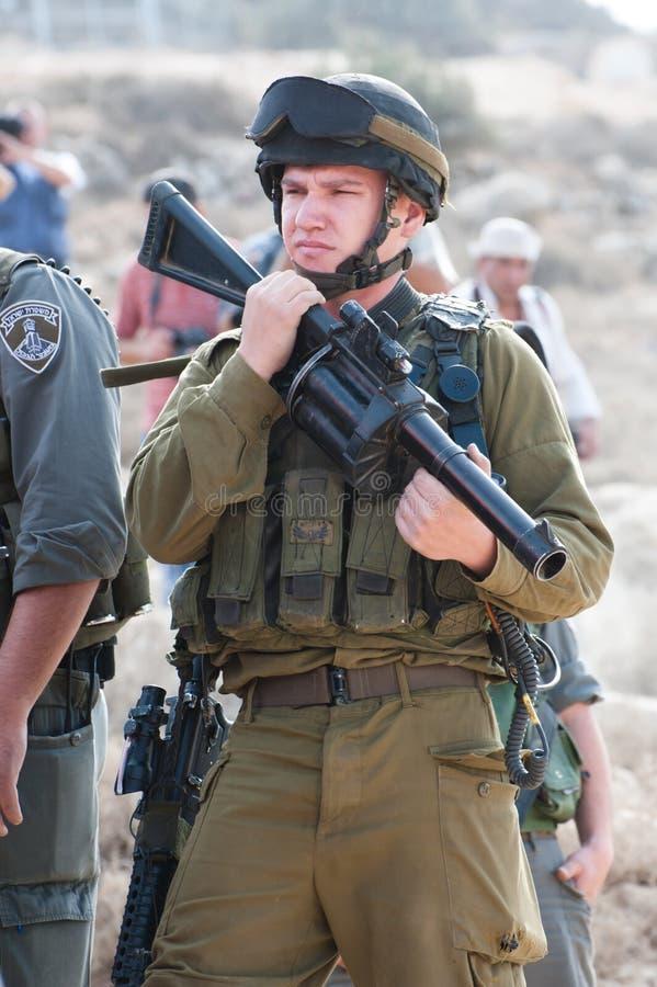 Soldados israelitas foto de stock royalty free