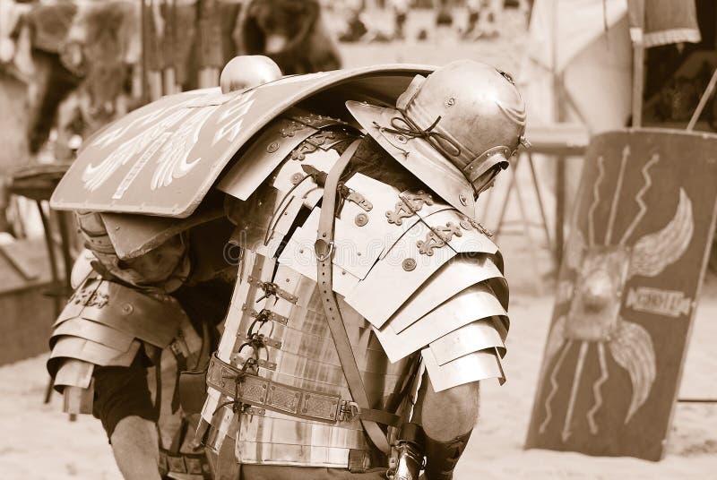 Soldados romanos imagen de archivo