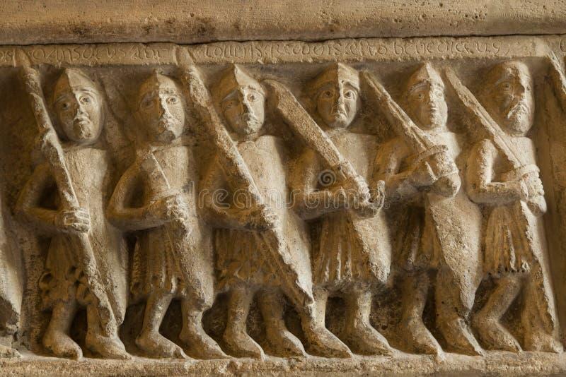 Soldados romanos fotos de archivo
