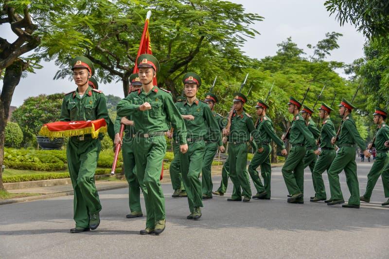 Soldados vietnamianos fotos de stock