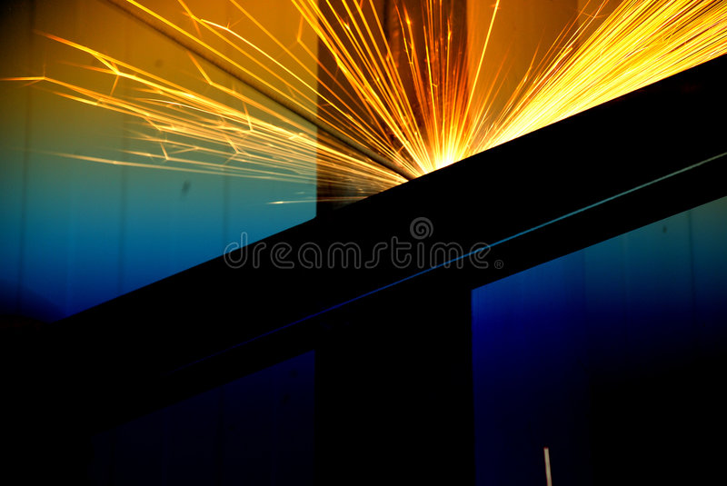 Soldadura abstrata imagem de stock royalty free