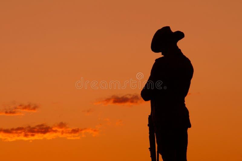 soldat arkivbild