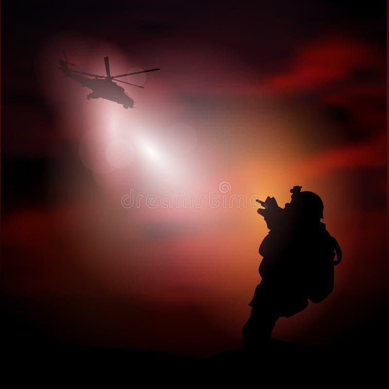 Soldat lizenzfreie abbildung