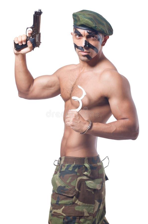 Soldat royaltyfri foto