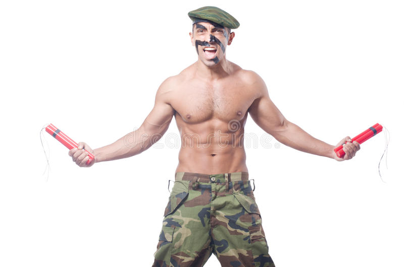 Soldat arkivfoto