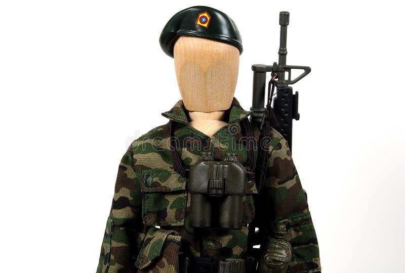 Soldat stockbild