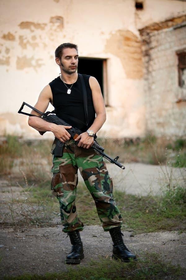 Soldat photographie stock libre de droits