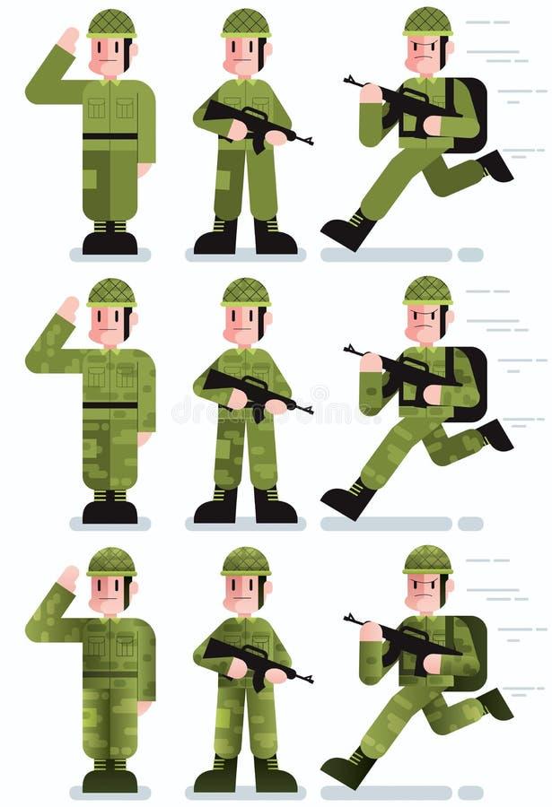 soldat illustration stock