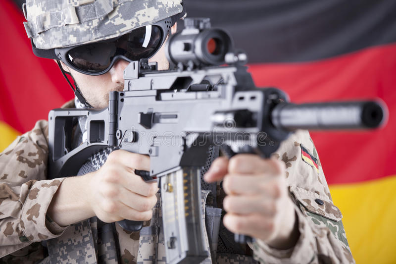 Soldat allemand image libre de droits