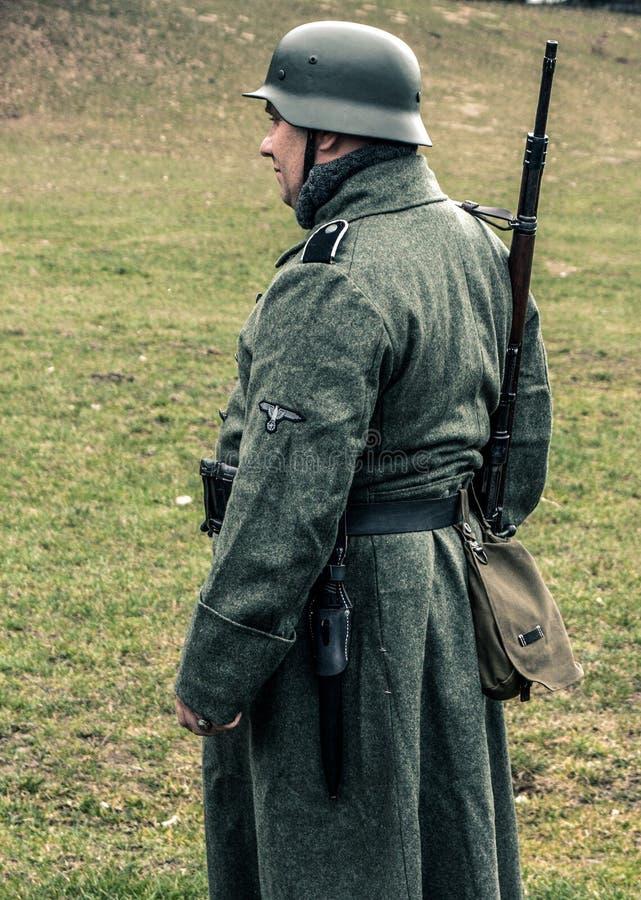 Soldat allemand image stock