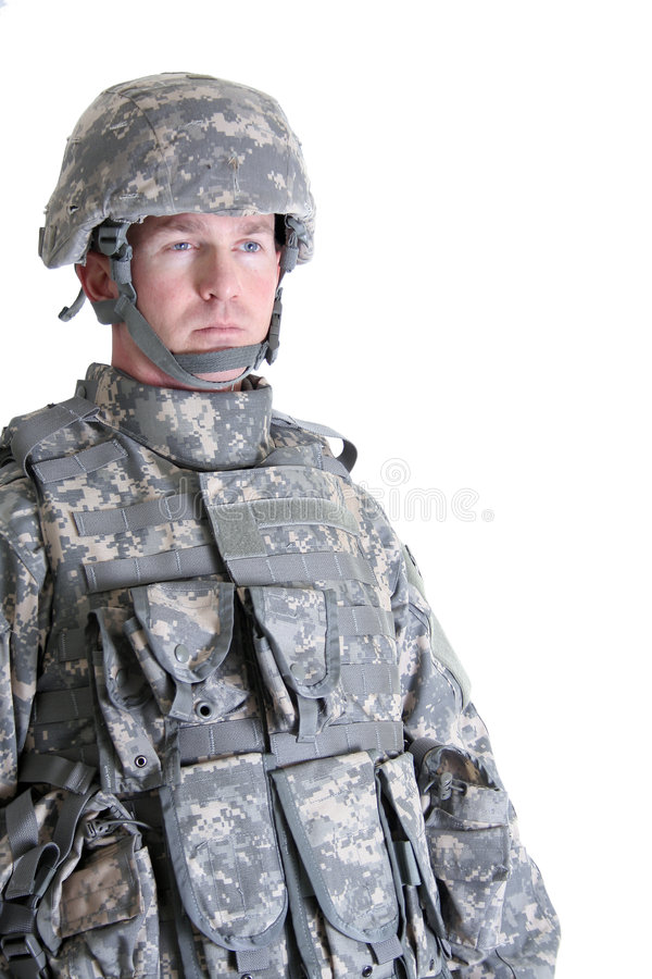 Soldat américain de combat photos stock