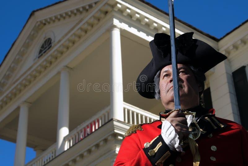 soldat britannique images stock