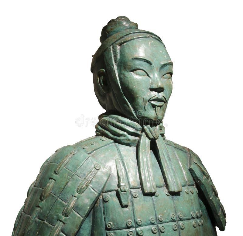 Soldat chinois Statue de terre cuite photos libres de droits