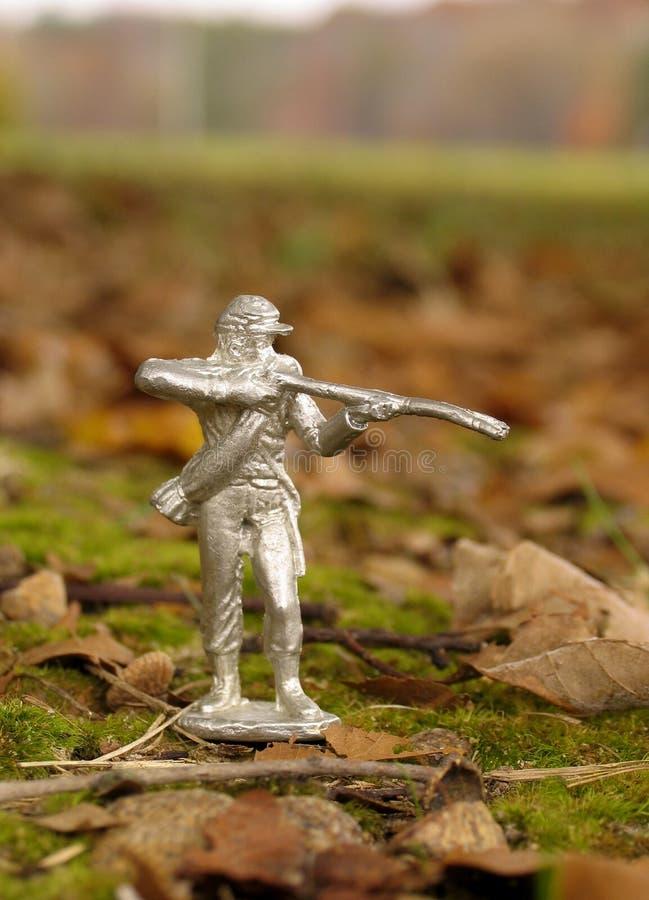 Soldat De Bidon Photo Stock