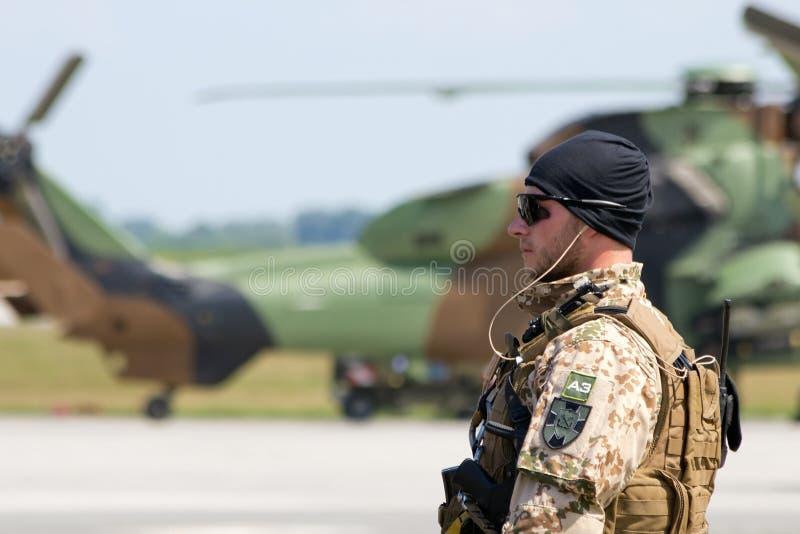Soldat de forces terrestres de l'Allemagne photographie stock libre de droits
