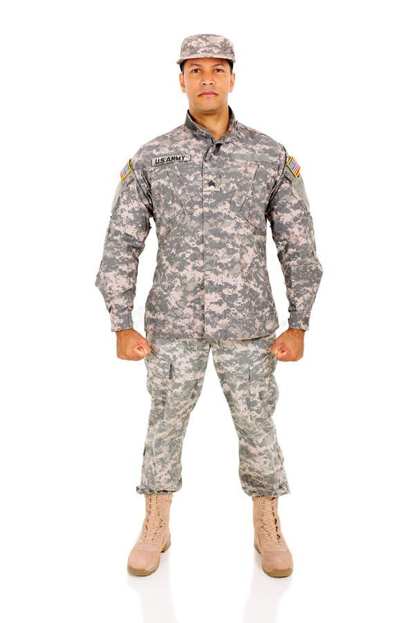 Soldat de l'ARMÉE AMÉRICAINE photos libres de droits
