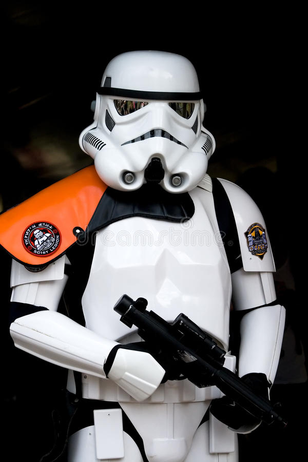 Soldat de la cavalerie de Star Wars image stock