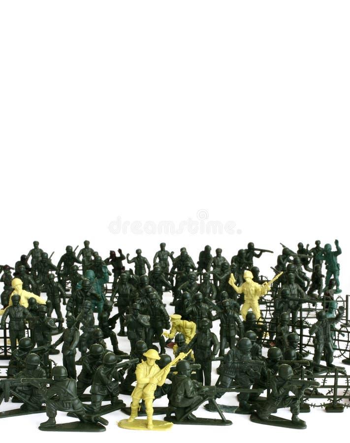 Soldat de plastique photo libre de droits