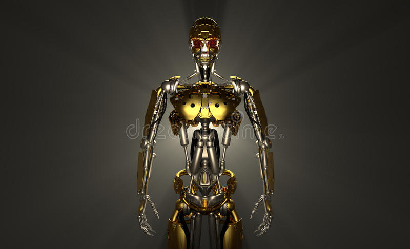 Soldat De Robot Images stock