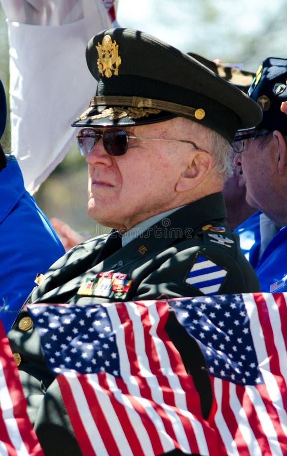 Soldat de vétéran supérieur photo libre de droits