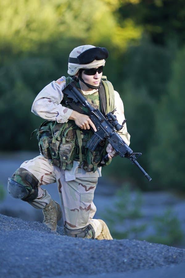 Soldat des USA image stock