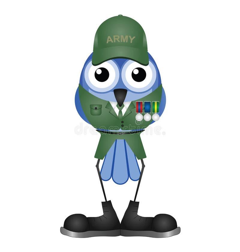 Soldat Med Medaljer Arkivfoton