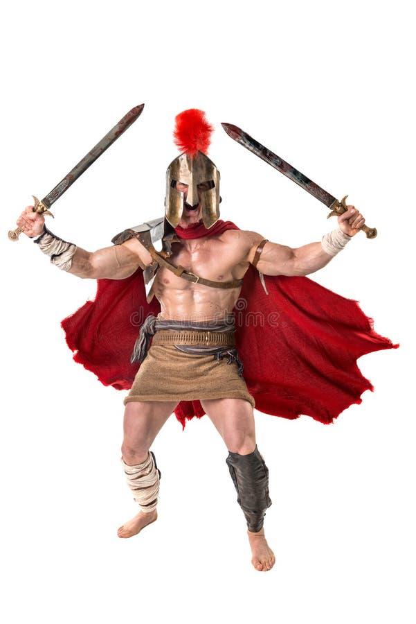 Soldat ou gladiateur antique image stock